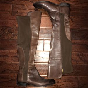 Franco Sarto Over the Knee Moto Boots